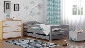 Łóżko dla dziecka z szufladami