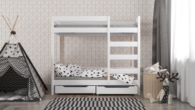Łóżko dziecięce piętrowe Wanda W1 2