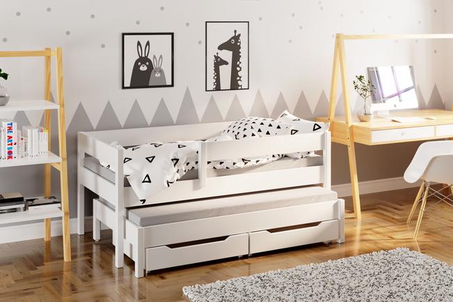 łóżko Dla Dzieci Pojedyncze Z Dostawką Jula