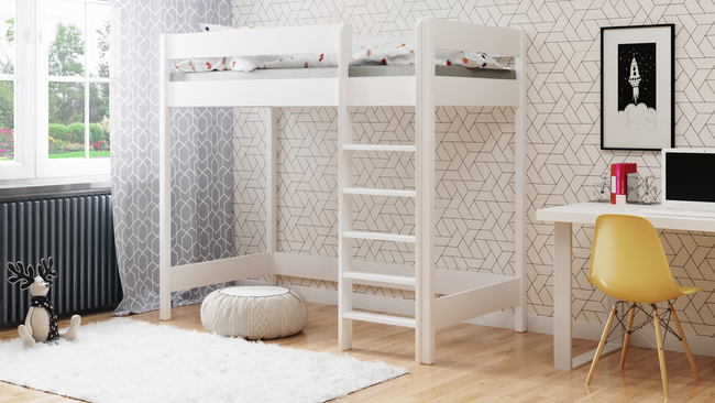 Łóżko antresola dla dzieci Hubi