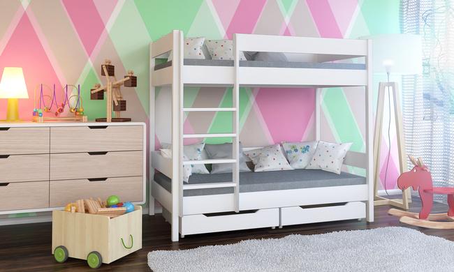 Łóżko piętrowe dla dzieci Dino