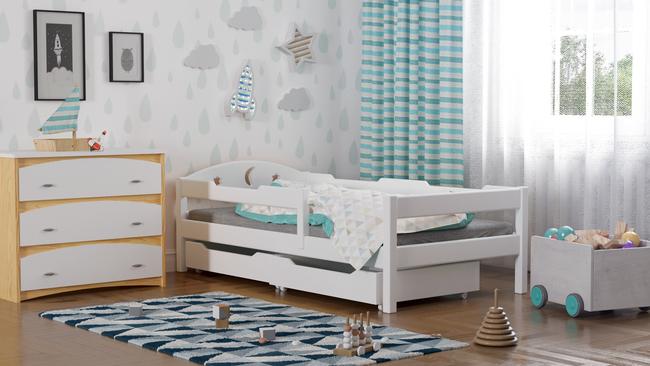 Łóżko pojedyncze dzieciece