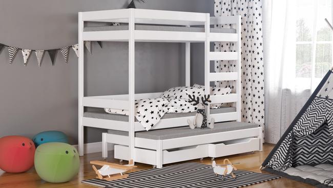 Łóżko dziecięce piętrowe Trimi T1 2