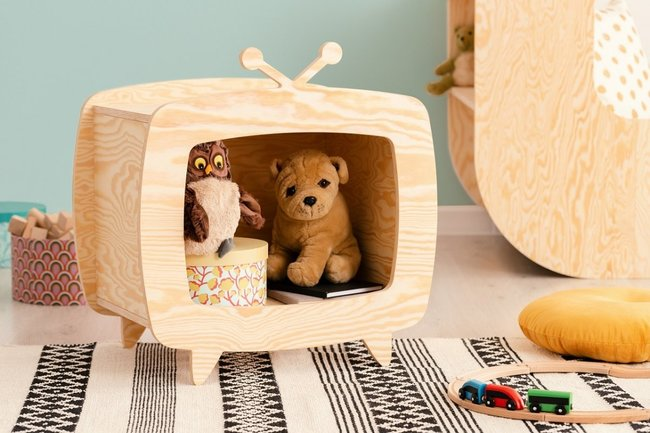 półka na zabawki