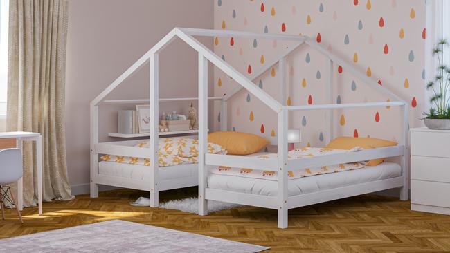 łóżka z litego drewna, skandynawskie łóżka, łóżko dla dzieci, łóżko pojedyncze, ekologiczne łóżka, łóżka eko, łóżka w skandynawskim stylu, łóżko domek, łóżko w kształcie domku, łóżko podwójne, łóżko dla rodzeństwa
