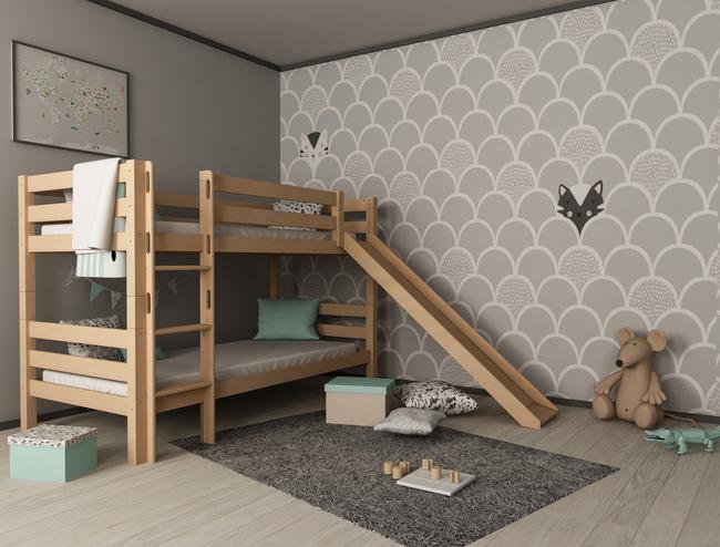 Łóżko dziecięce piętrowe Lena Slide 3