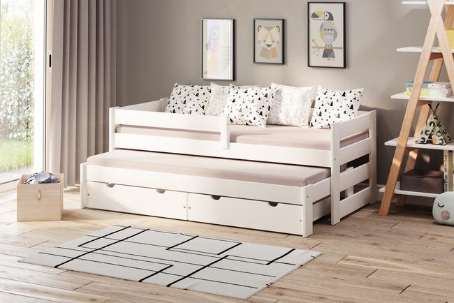 Łóżko dziecięce z dostawką Paul Duo (podwójne/pojedyncze)