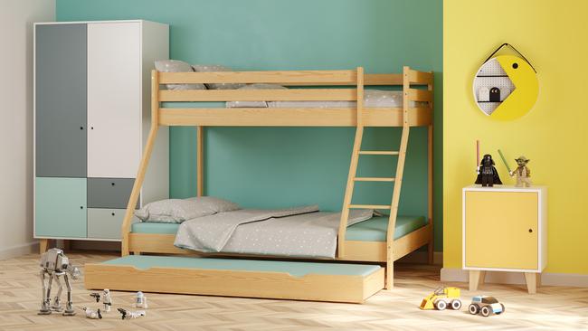 Łóżko dziecięce piętrowe Lucy