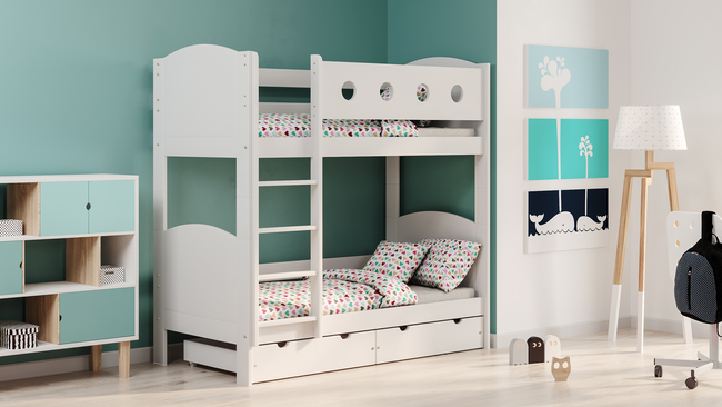 Łóżko dziecięce piętrowe Toms