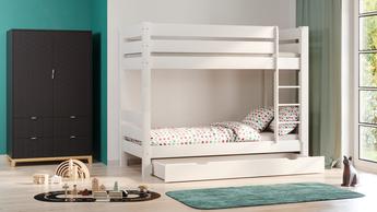 Łóżko dziecięce piętrowe Luca