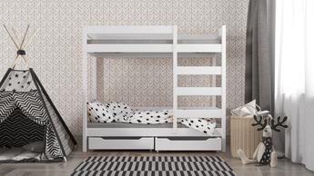 Łóżko piętrowe dla młodzieży