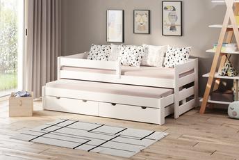 Łóżko pojedyncze z dostawką Paul Duo