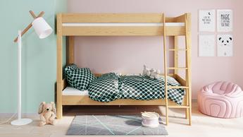 Łóżko dziecięce piętrowe Leon