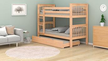 Łóżko dziecięce piętrowe Liam