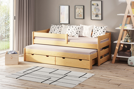 Łóżko dziecięce z dostawką Paul Duo (podwójne/pojedyncze) 4