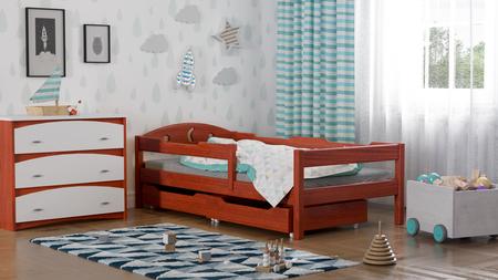 Łóżko dla dzieci pojedyncze Oliwka 6