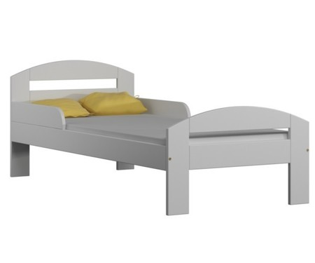 Łóżko dla dziecka w kolorze białym z szufladami