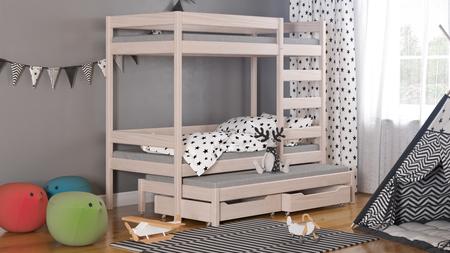 Łóżko dziecięce piętrowe Trimi T1 4