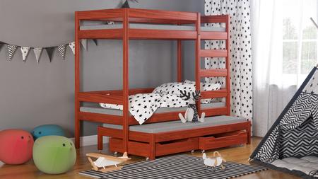 Łóżko dziecięce piętrowe Trimi T1 5