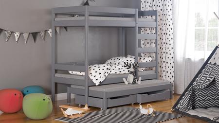 Łóżko dziecięce piętrowe Trimi T1 6