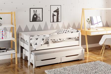 Łóżko dla dzieci z dostawką Jula (podwójne/pojedyncze) 2