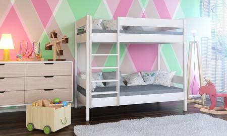 Łóżko piętrowe dla dzieci Dino 3