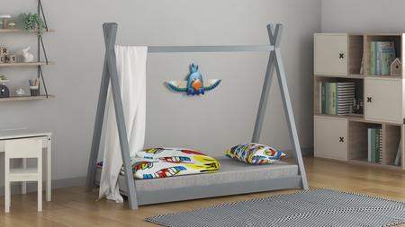 niskie łóżeczko