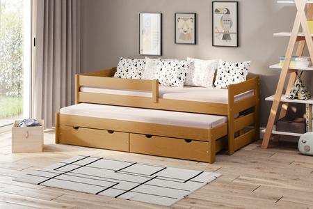 Łóżko dziecięce z dostawką Paul Duo (podwójne/pojedyncze) 5