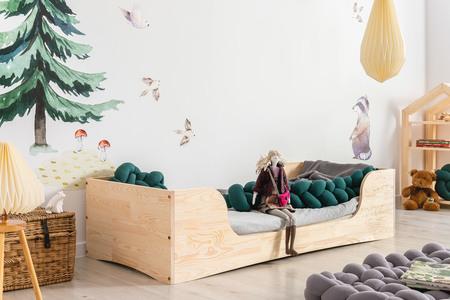skandynawskie łóżka
