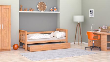Łóżko pojedyncze Natan