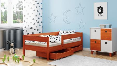 Łóżko dla dzieci pojedyncze Miki 3