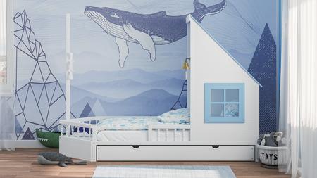 łóżko pojedyncze, łóżka pojedyncze, łóżko dla dzieci, łóżka dla dzieci, meble dziecięce