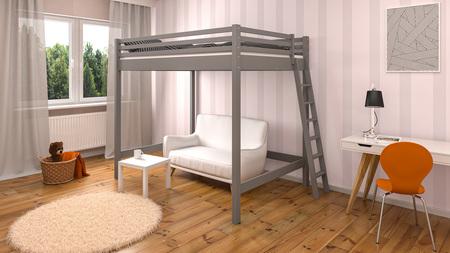Łóżko antresola dla dzieci