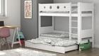 potrójne łóżko