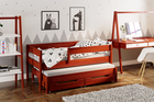 Łóżko dla dzieci z dostawką Jula (podwójne/pojedyncze) 3