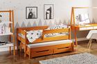 Łóżko dla dzieci z dostawką Jula (podwójne/pojedyncze) 4
