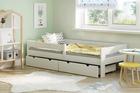Łóżko dla dzieci z litego drewna