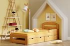 łóżko pojedyncze z szufladami dla dzieci