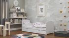 Białe Łóżko dla dziecka