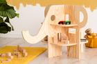 meble ze sklejki, eko meble, stolik na zabawki, regał na zabawki, meble dziecięce,