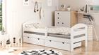 Łóżko dla dzieci pojedyncze Cami