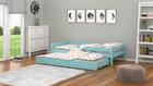 łóżko z szufladą z funkcją spania
