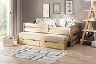 Łóżko dziecięce z dostawką Paul Duo (podwójne/pojedyncze) 2