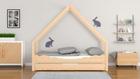 łóżko domek dla dzieci, niskie łóżeczko